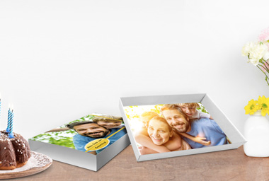 Bedruckbare Geschenkbox für kleine Geschenke