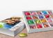 Bedruckbare Geschenkbox für Süßigkeiten oder Gutscheine